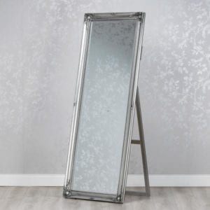 Chateau Chevel Mirror - Silver