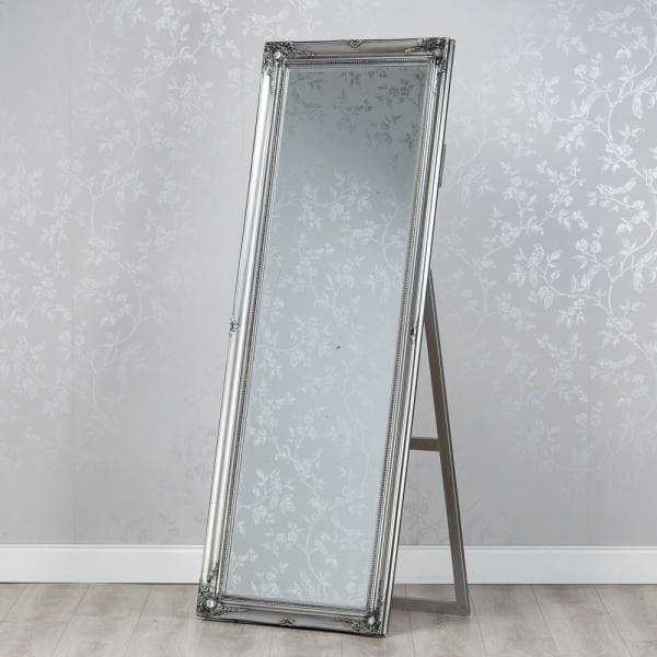 Chateau Chevel Mirror - Silver