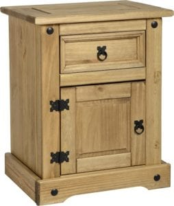 Corona Bedside Table