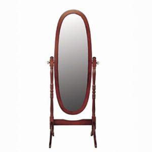 Cheval Mirror - Mahogany