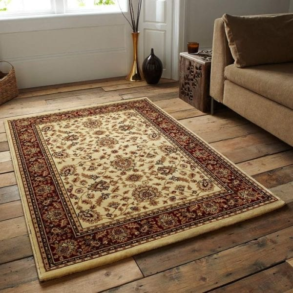 Heritage Rug - Ivory/Red - 120 x 170