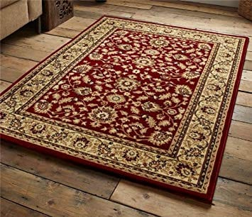 Heritage Rug – Red – 120 x 170