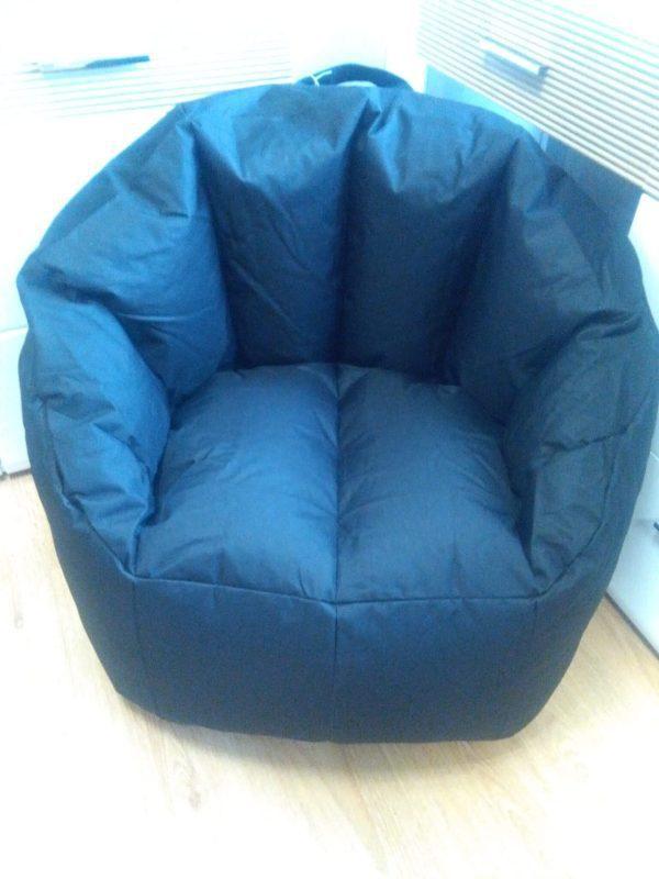 Snug Bean Chair - Black