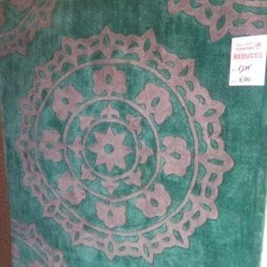 Teal Lace Rug - 120 x 170