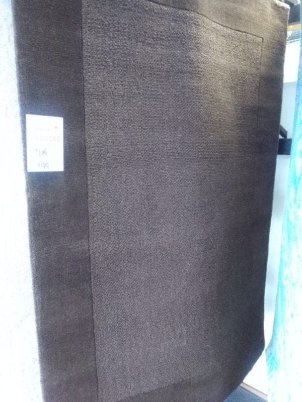 Cinnamon Wool Chocolate Rug - 120 x 170