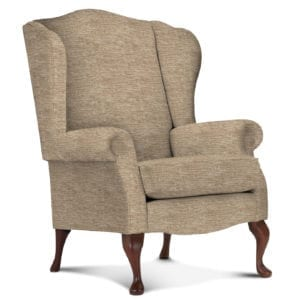 Kensington Fireside Chair - Finbury Nutmeg