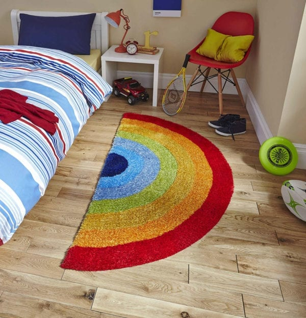 Colourful Rainbow Rug