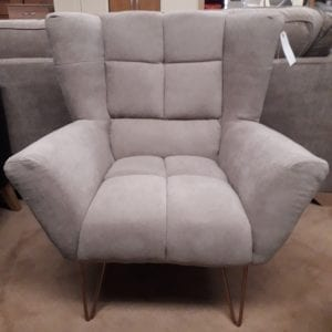 Lacy Accent Chair - Beige
