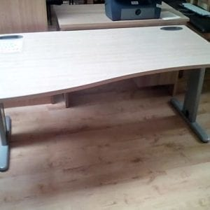 Large Wave Office Desk