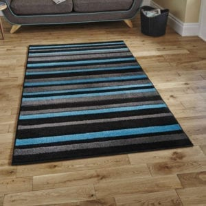 Matrix Rug - Blue/Black