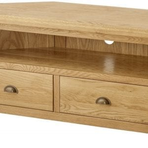 Portlaois Corner Tv Unit - Oak
