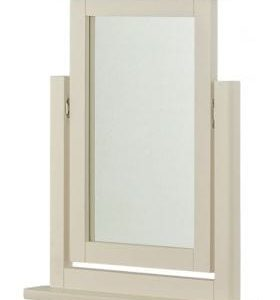 Portlaois Dressing Mirror - Cream & Oak