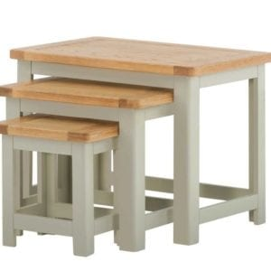 Portlaois Nest Of Tables - Stone Grey