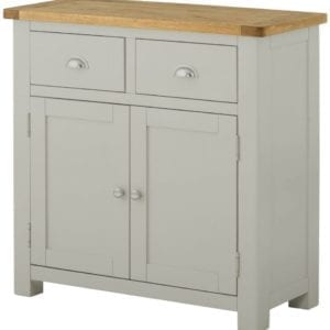 Portlaois Small Sideboard - Stone Grey
