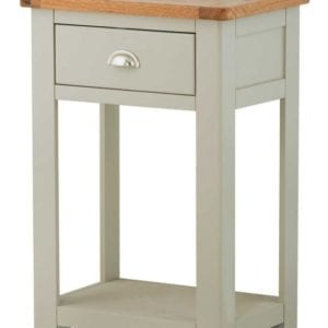 Portlaois Telephone Table - Stone Grey