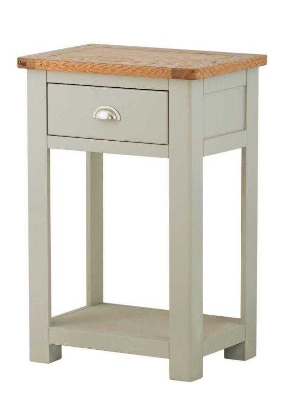 Portlaois Telephone Table - Stone Grey