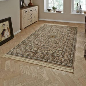 Regal Traditional Rug - Beige - 120 x 170