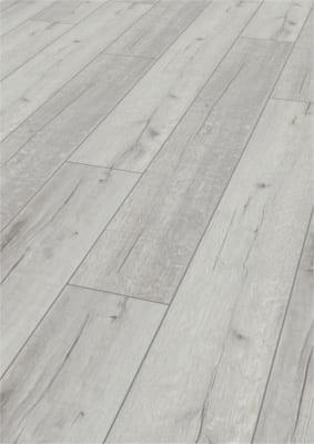 Kronotex Robusto - Rip Oak White 12mm