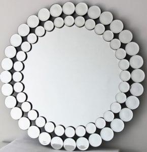 Ally Round Mirror