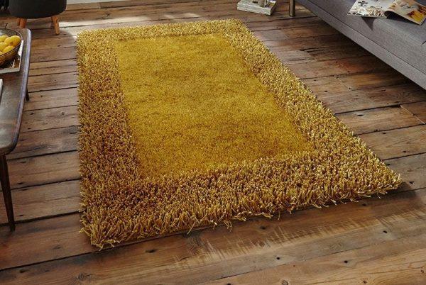 Sable Rug - Yellow - 90 x 150