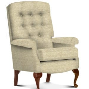 Shildon Fireside Chair - Low Seat - Cream
