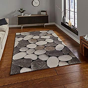 Woodland Rug - Cream/Grey - 120 x 170