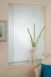 Aura Ice Blue - Vertical Blind