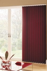 Carnival Plum - Vertical Blind