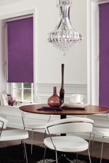 Carnival Purple - Roller Blind