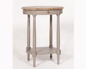 Chateau Oval Side Table