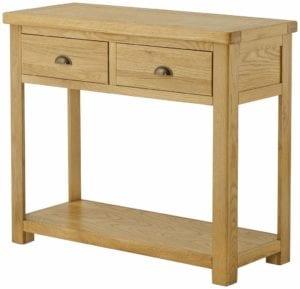 Portlaois Console Table - Oak