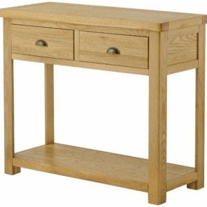 Portlaois Console Table - Oak