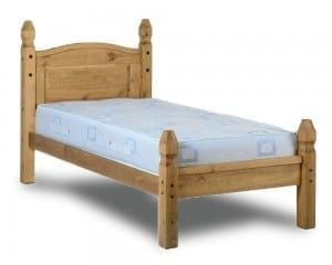 Corona 3' Princess Bed Frame - Low Foot End