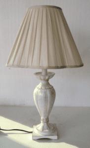 Table Lamp - Cream