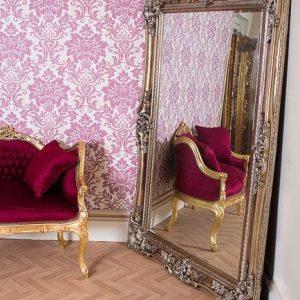 Paige Silver Mirror
