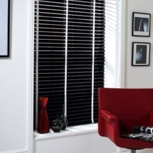 Ebony Wood Slat - Venetian Blind