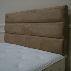 5' Emerald 3 Row Headboard - M/Burgundy - Respa