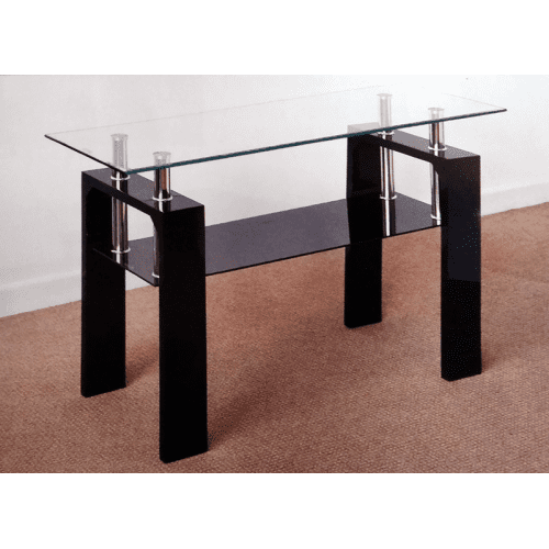 Frankfurt Console Table - Black