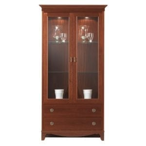 G Plan - Gainsborough Two Door Display Unit