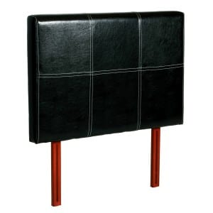 Genoa Black Pu 3' Headboard