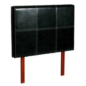 Genoa Black Pu 3' Headboard