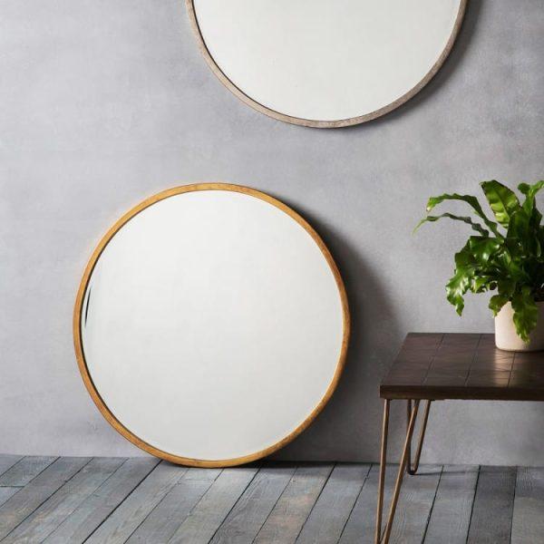 Higgins Gold Mirror