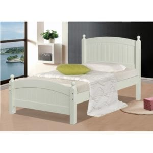 Highland 3' Bed Frame - Cream