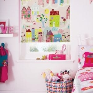 Home Sweet Home Petal - Roller Blind