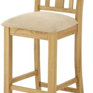Portlaois Bar Stool - Oak