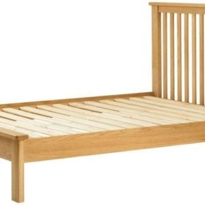 "Portlaois 4'6"" Bed Frame - Oak"