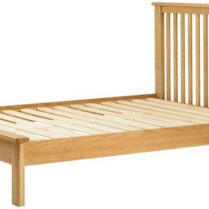 "Portlaois 4'6"" Bed Frame - Oak"