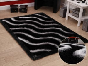 Olympic - Black Polester Rug - 120 x 170