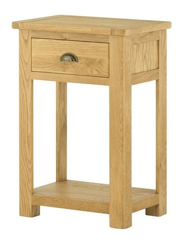 Portlaois Telephone Table - Oak