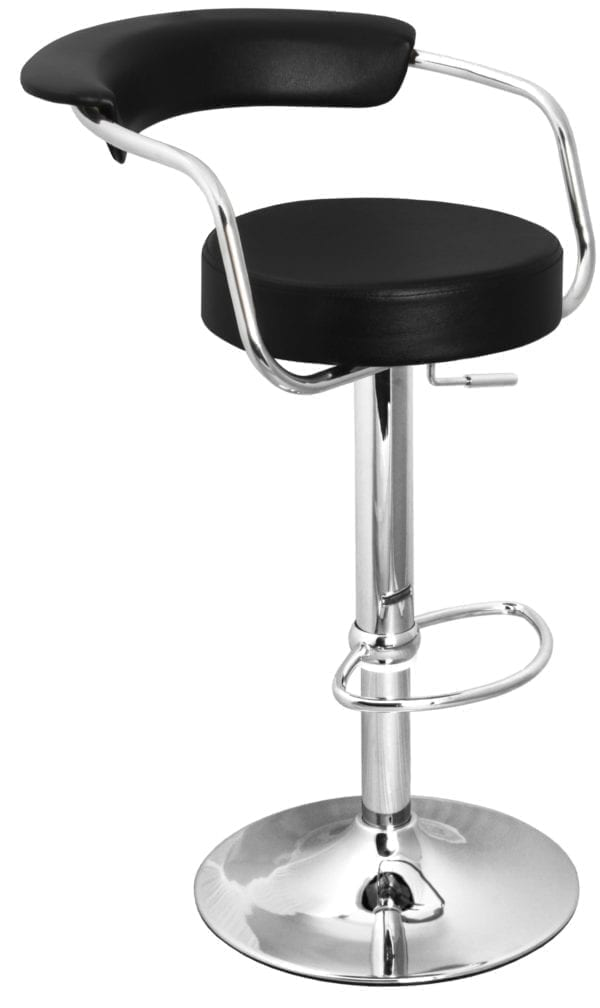 Saturn Stool - Black